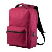Rucsac sport, 280×400×120 mm, Everestus, 20FEB14486, 300D Poliester, Rosu