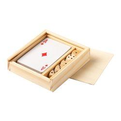 Game set, 105×28×97 mm, Everestus, 20FEB10034, Lemn, Natur
