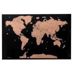 Harta Lumii razuibila, 430×285 mm, Everestus, 20FEB7837, Hartie, Carton, Natur