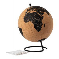 Glob de birou cu 12 pini, ø150×200 mm, Everestus, 20FEB7835, Pluta, Natur