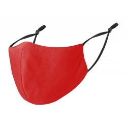 Masca de fata lavabila, 240x135 mm, MNB, 20SEP0079, Poliester, Rosu, Negru