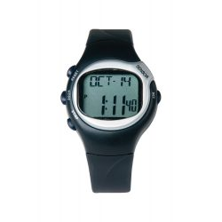 Watch pulsometer, 250×46×15 mm, 20FEB8557, Plastic, Argintiu
