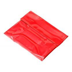 Husa racitor pentru sticla, 340×180 mm, Everestus, 20FEB13602, PVC, Rosu