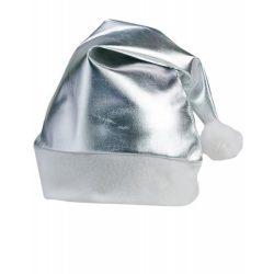 Caciulita Mos Craciun, 280×400 mm, Everestus, 20FEB17118, Poliester, Argintiu