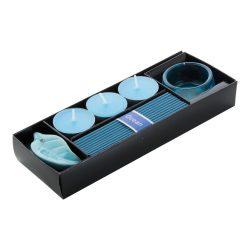 Incense set, ocean, 203×35×76 mm, Everestus, 20FEB3673, Hartie, Albastru