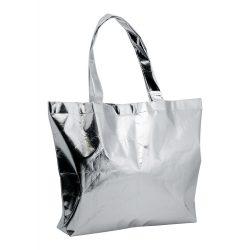 Geanta de plaja, 450×355×105 mm, Everestus, 20FEB10987, Material netesut, Argintiu