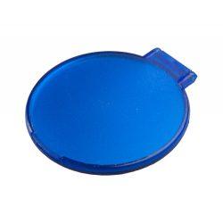 Oglinda de buzunar, ø62 mm, Everestus, 20FEB13584, Plastic, Albastru, Alb