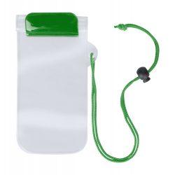 Husa impermeabila pentru telefon, 95×230 mm, Everestus, 20FEB10848, Plastic, Verde