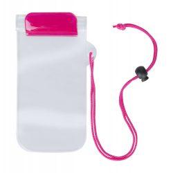 Husa impermeabila pentru telefon, 95×230 mm, Everestus, 20FEB10850, Plastic, Roz