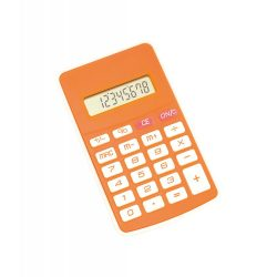 Calculator, 67×115×8 mm, Everestus, 20FEB5019, Plastic, Portocaliu