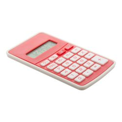 Calculator, 67×115×8 mm, Everestus, 20FEB5020, Plastic, Rosu