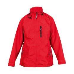 Jacket, unisex, XXL, M-XXL, 20FEB16540, Nylon, Microfibra, Rosu