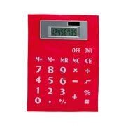 Calculator, 145×8×195 mm, Everestus, 20FEB5023, PVC, Rosu