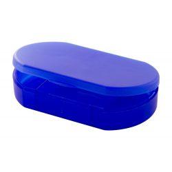 Cutie de medicamente, 60×36×12 mm, Everestus, 20FEB9385, Plastic, Albastru