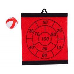 Dartball board, 125×150×5 mm, Everestus, 20FEB6521, Rosu