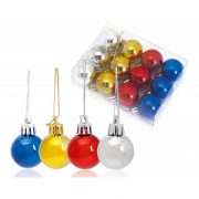 Christmas ornament set, 118×30×90 mm, Everestus, 20FEB16210, Plastic, Multicolor
