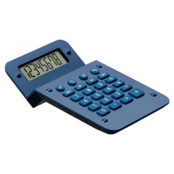 Calculator, 80×26×124 mm, Everestus, 20FEB5008, Plastic, Albastru