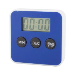 Timer de bucatarie, 60×60×16 mm, Everestus, 20FEB7303, Plastic, Albastru