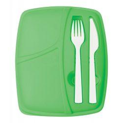 Cutie alimente, 800 ml, 190×55×232 mm, Everestus, 20FEB2904, Plastic, Verde