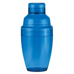 Cocktail shaker, 300 ml, ø80×165 mm, Everestus, 20FEB7787, Plastic, Albastru