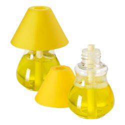 Odorizant auto, lemon, ø57×82 mm, Everestus, 20FEB10004, Plastic, Galben