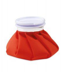 Refillable heat pack, ø140×30 mm, Everestus, 20FEB6398, PVC, Bumbac, Rosu