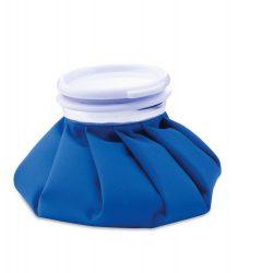 Refillable heat pack, ø140×30 mm, Everestus, 20FEB6397, PVC, Bumbac, Albastru