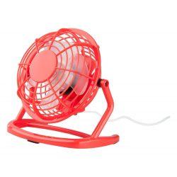 Mini desk fan, 95×150×147 mm, Everestus, 20FEB16563, Plastic, Rosu
