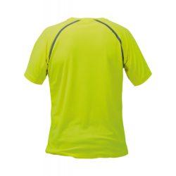 Sport t-shirt, unisex, S, S-XXL, 20FEB16723, Poliester, Galben, Gri