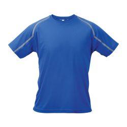 Sport t-shirt, unisex, XL, S-XXL, 20FEB16719, Poliester, Albastru, Gri