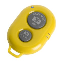 Camera shutter remote, 33×52×10 mm, Everestus, 20FEB5551, Plastic, Galben