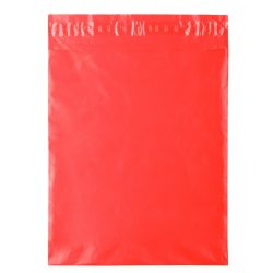Bag for t-shirt, unisex, 275×370 mm, Everestus, 20FEB5852, Plastic LDPE, Rosu