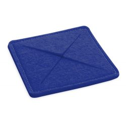 Coaster, 100×100×6 mm, Everestus, 20FEB17189, Pasla, Albastru