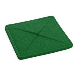 Coaster, 100×100×6 mm, Everestus, 20FEB17190, Pasla, Verde