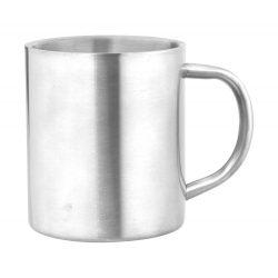 Cana, 300 ml, ø76×89 mm, Everestus, 20FEB15748, Otel inoxidabil, Argintiu