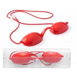 Protectie pentru ochi, 151×30×46 mm, Everestus, 20FEB3532, Silicon, Rosu
