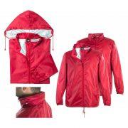 Pelerina de ploaie, unisex, XL, M-XXL, Everestus, 20FEB5210, 210T Poliester, Rosu