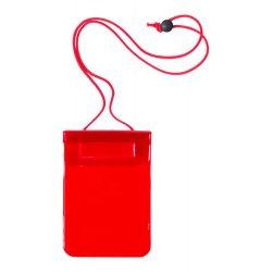 Husa impermeabila pentru telefon, 130×245 mm, Everestus, 20FEB10776, Plastic, Rosu