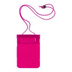 Husa impermeabila pentru telefon, 130×245 mm, Everestus, 20FEB10775, Plastic, Roz