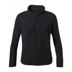 Fleece jacket, unisex, M, S-XXL, 20FEB16482, Poliester, Negru