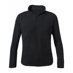 Fleece jacket, unisex, XXL, S-XXL, 20FEB16485, Poliester, Negru