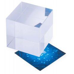 Bloc din sticla, 50×50×50 mm, Everestus, 20FEB13427, Sticla, Transparent
