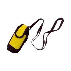 Mobile phone case, 60×106×32 mm, Everestus, 20FEB5368, Poliester, Galben