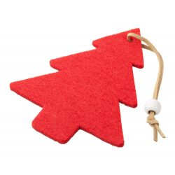 Christmas tree ornament, christmas tree, Everestus, 20FEB16221, Pasla, Rosu