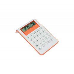 Calculator, 100×35×165 mm, Everestus, 20FEB5005, Plastic, Portocaliu, Alb