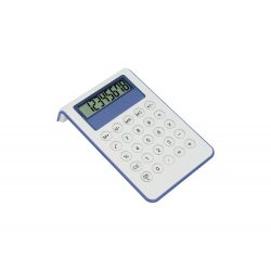 Calculator, 100×35×165 mm, Everestus, 20FEB5004, Plastic, Albastru, Alb