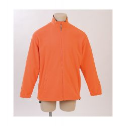 Polar jacket, unisex, XL, M-XXL, 20FEB16519, Polar fleece, Portocaliu