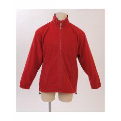 Polar jacket, unisex, M, M-XXL, 20FEB16522, Polar fleece, Rosu