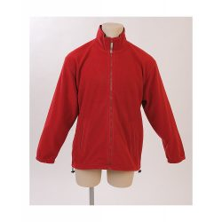 Polar jacket, unisex, XL, M-XXL, 20FEB16523, Polar fleece, Rosu