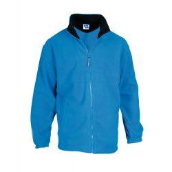 Polar jacket, unisex, XXL, M-XXL, 20FEB16506, Polar fleece, Albastru